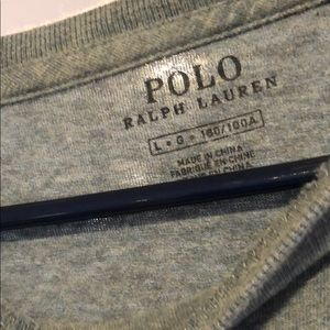 Polo by Ralph Lauren Shirts - Men's long sleeve Polo crewneck shirt